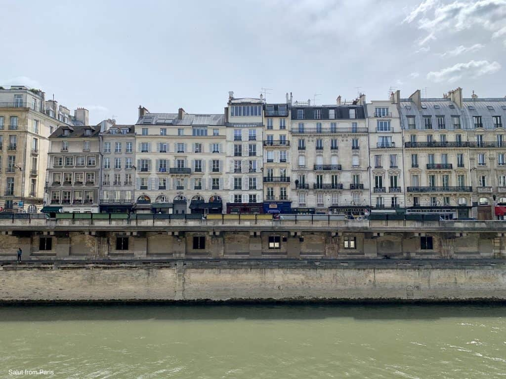The Seine is a good location for a bike tour in Paris