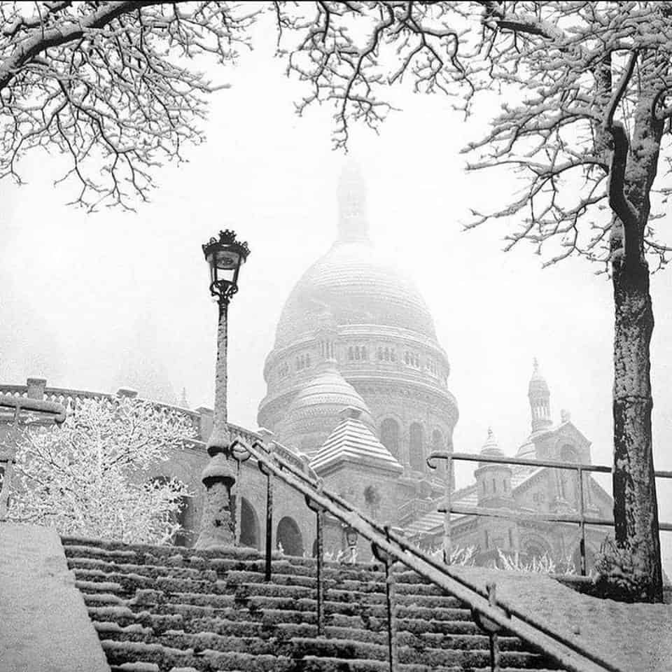 beautiful Paris in winter: Paris in the snow - Paris in winter. Will there be snow in Paris in Winter?