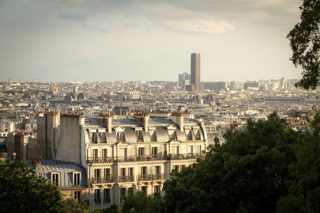 view over Paris - Tour Montparnasse