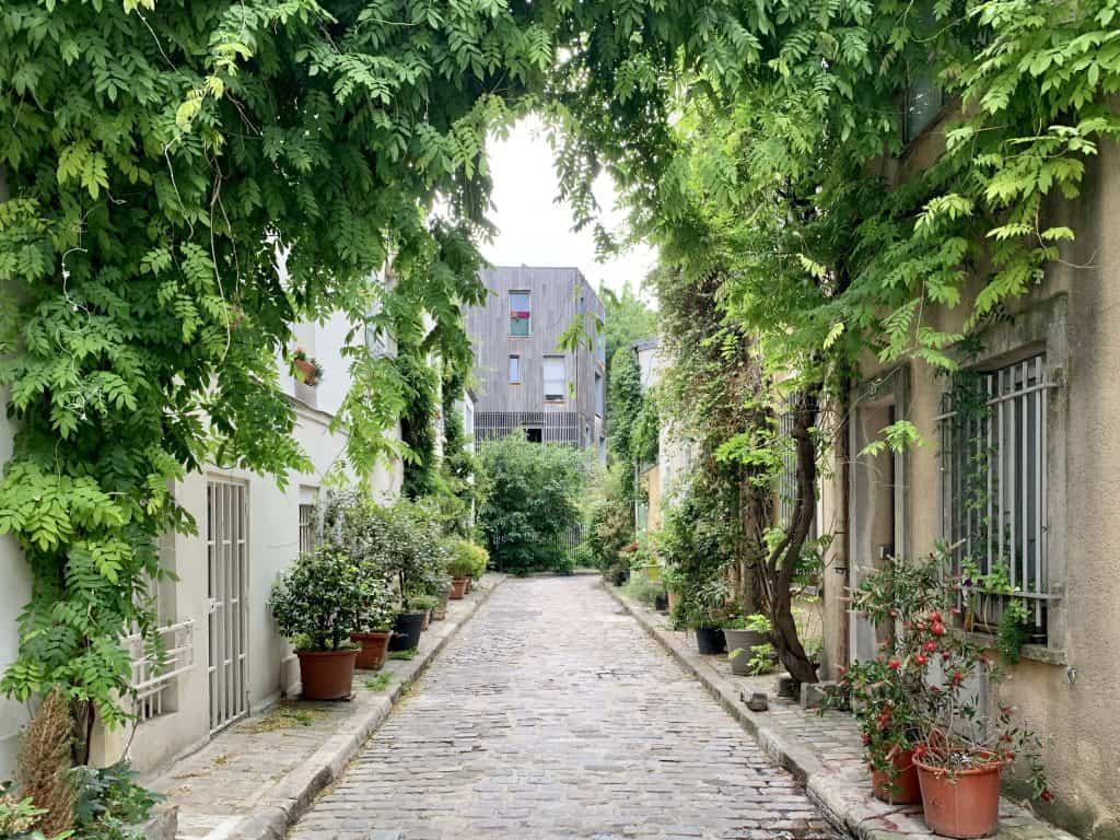 Rue Thermopyles in the 14th arrondissement