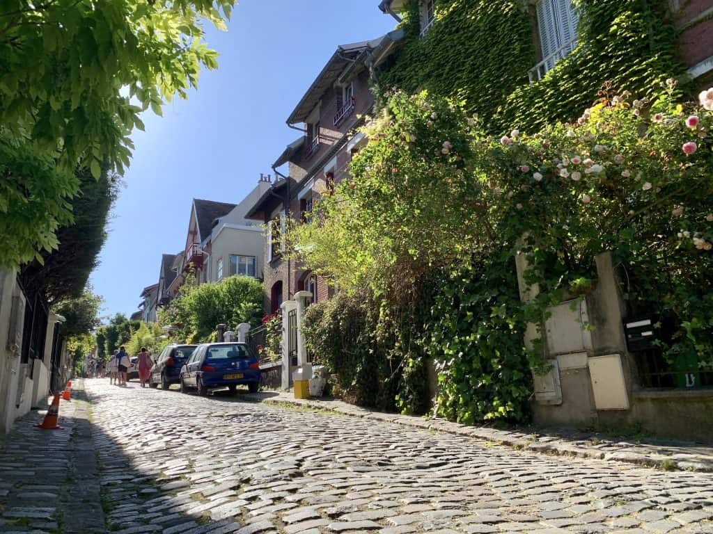 Square Montsouris - one of the many nice streets around Parc Montsouris a hidden gems paris and one of the secret spots in Paris that you shouldn't miss