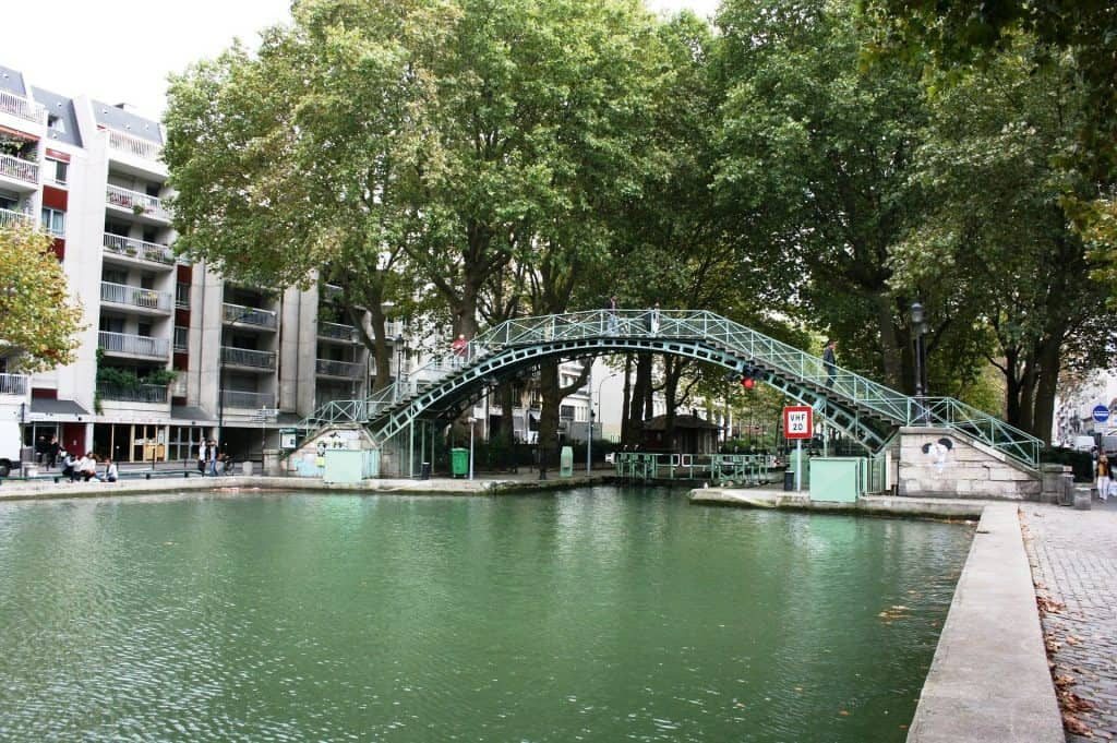 The Canal Saint Martin - discover it by taking one of the best seine river cruise that includes as well a cruise on the Canal St.Martin