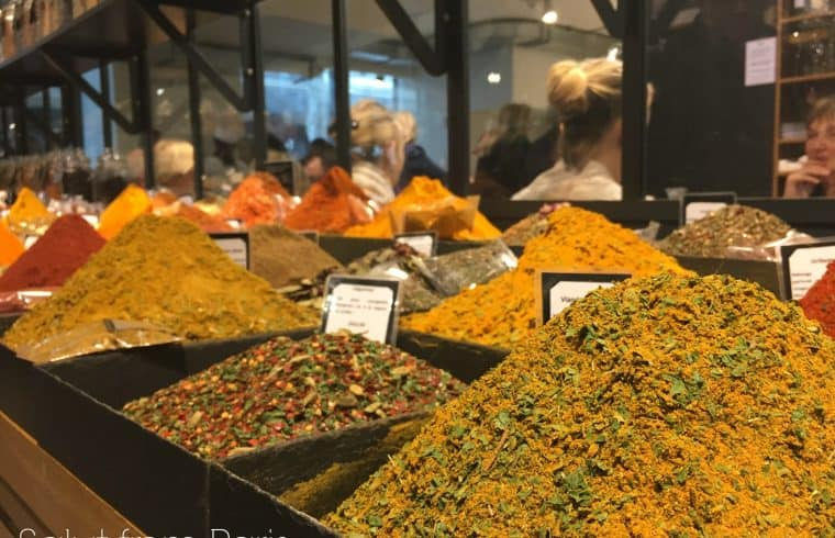 Le Gourmet - a food market in the Galeries Lafayette in Paris