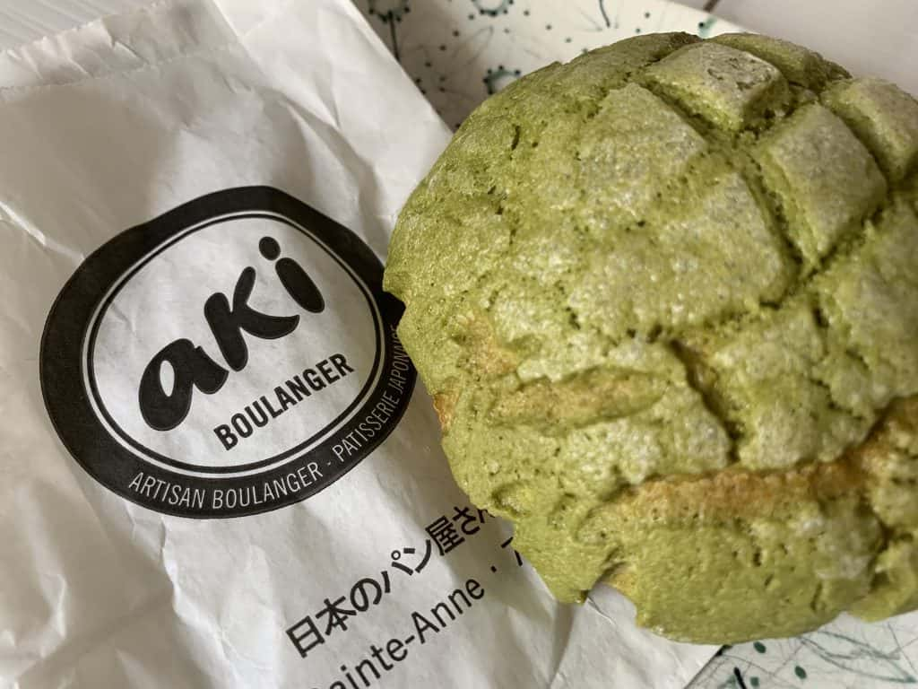 Aki Boulanger - a French Japanese Bakery near Opèra, one of the secret spots in Paris if you are keen on japanese cuisine