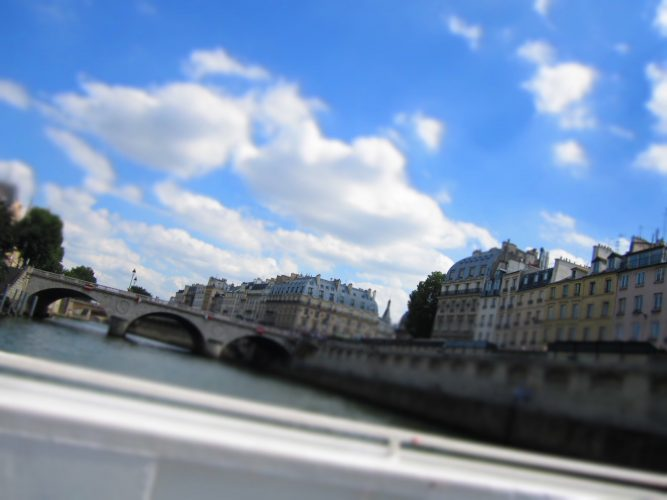Take a Boat tour on the Seine and enjoy Paris in a laid back facon