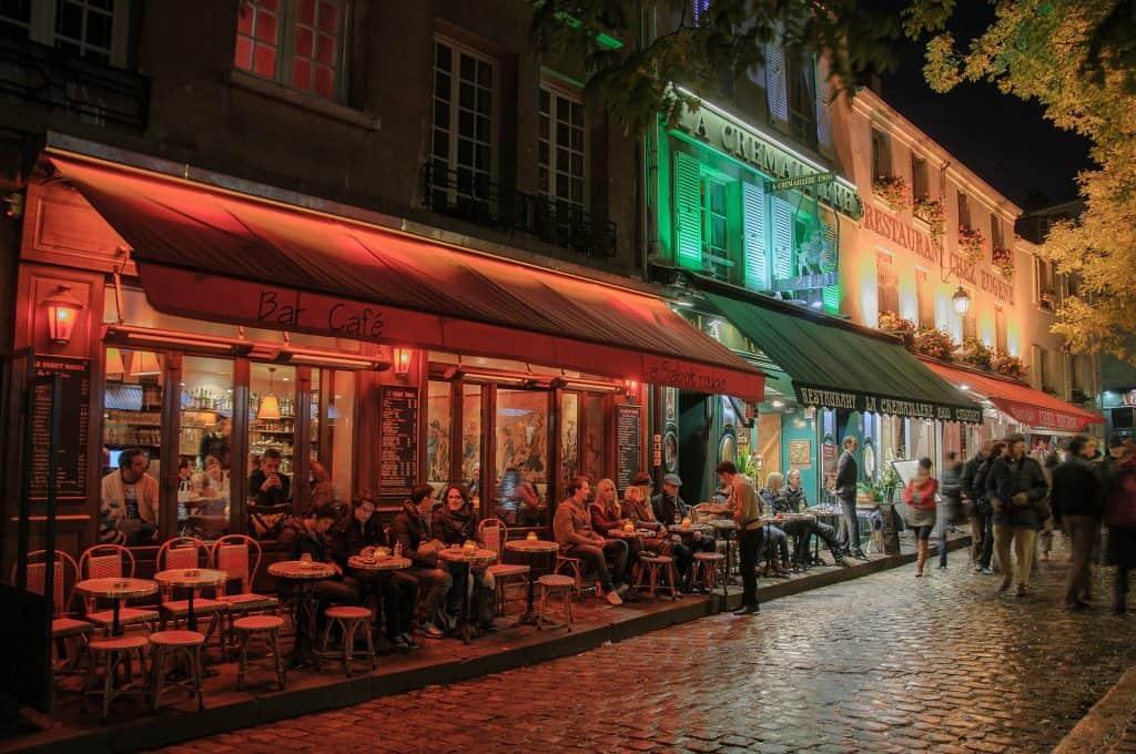 Dinner at Rue Mouffetard