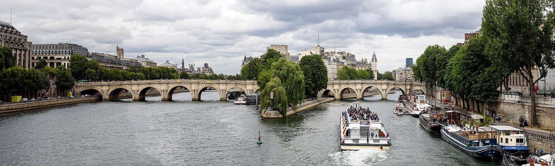 cruise on the Seine in Paris