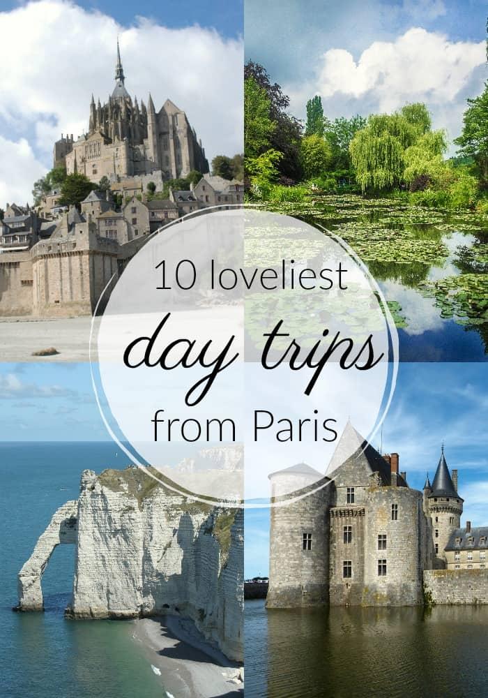 paris day tours - explore France from Paris