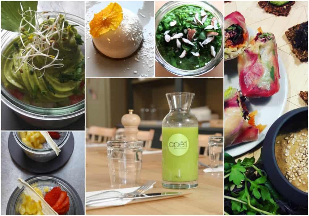 Vegan restaurant in Paris - Apéti - Paris raw food - vegan Paris