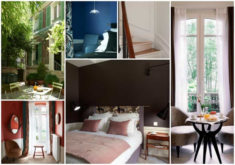 Maison Lepic Montmartre - where to stay in Montmartre? The Maison Lepic Montmartre is one of the nicest Hotels in Montmartre. A great choice if you wonder where to stay in Montmartre