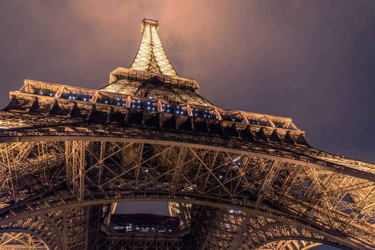 For the special treat: get Eiffel tower dinner tickets and enjoy a night view over Paris - Eat at the 58 Eiffel Tower or the Michelin Star Restaurant Jules Verne!