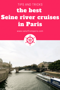 find the best Seine river cruises in Paris