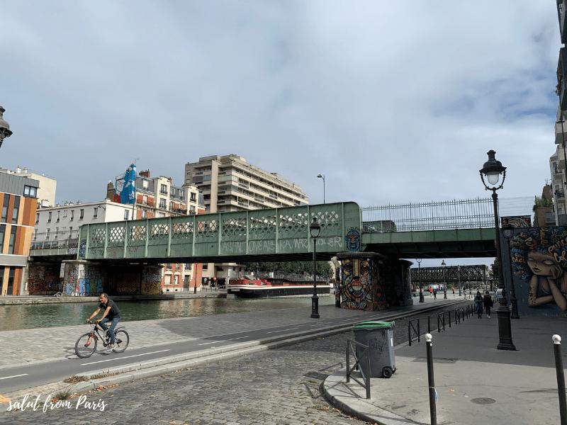 Bridge over the canal de l'Ourqc
