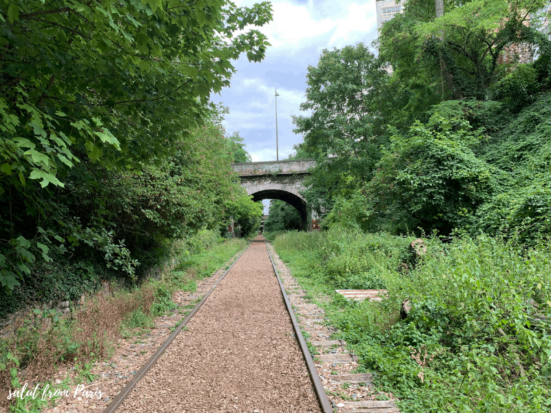 La Petite Ceinture – walking on rails