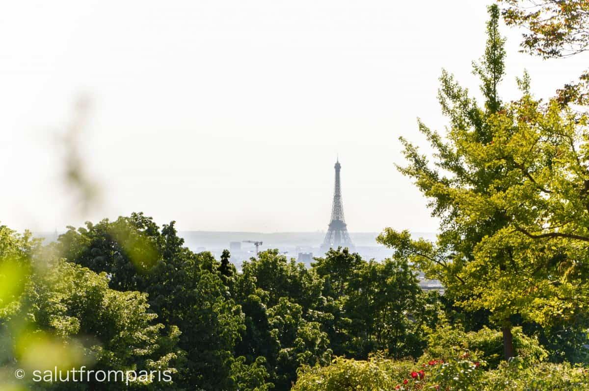 Eiffel Tower View Point: Belleville - Paris hidden gems