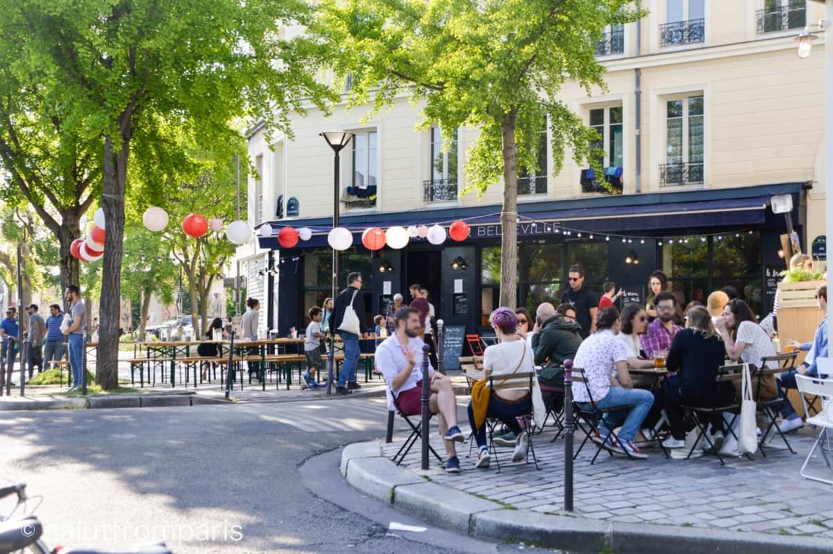 Belleville Paris is a laid back and friendly neighbourhood to discover the hidden Paris