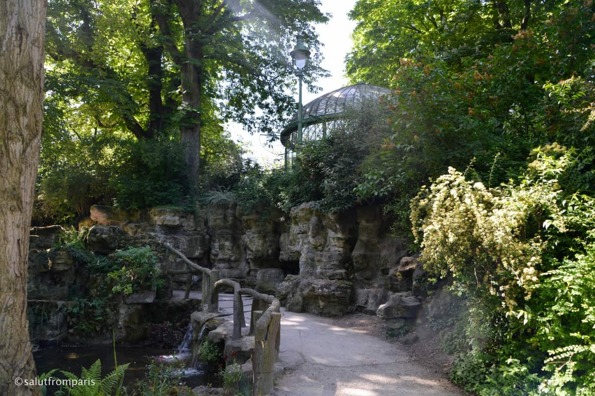 Parc Batignolles - an english garden in Paris - in one of the nicest areas - with plenty of bars, restaurants and little shops and boutiques
