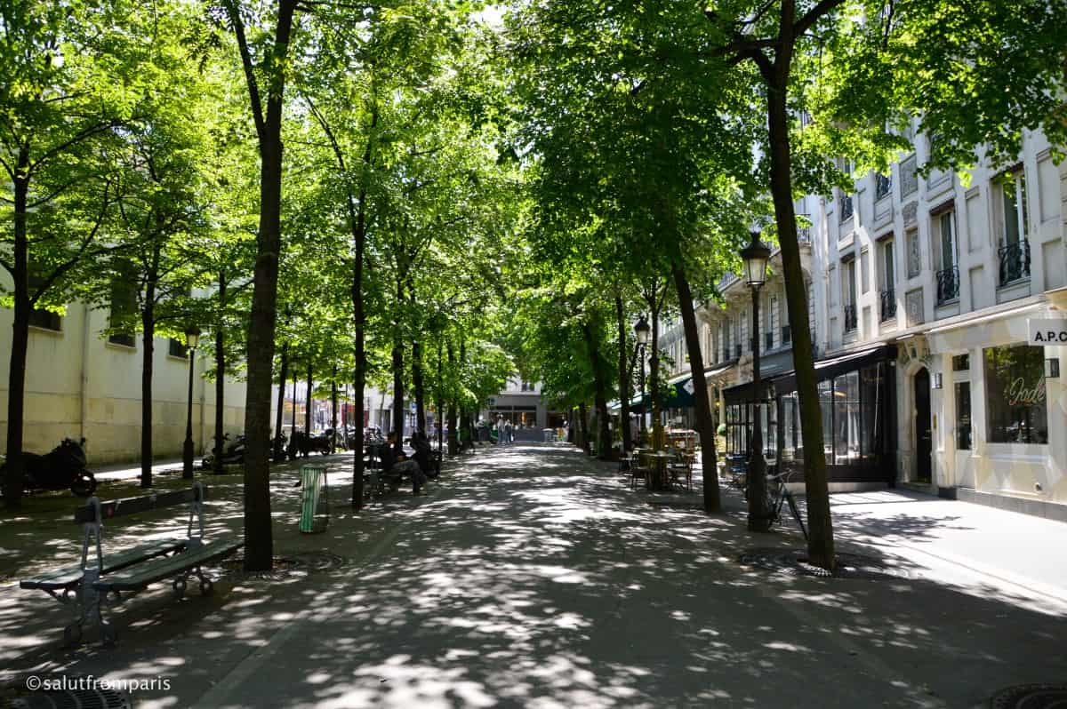 Square de Batignolles - walking tour through Pars