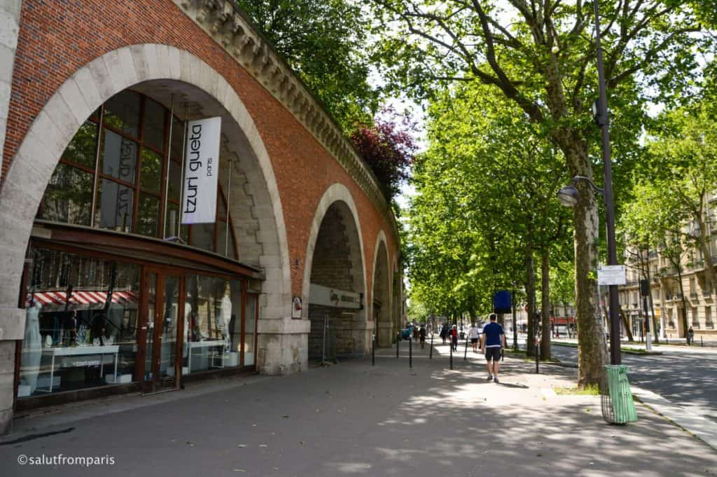The arcades of the Viaduct des Arts are filled with artisan stores and manufactories