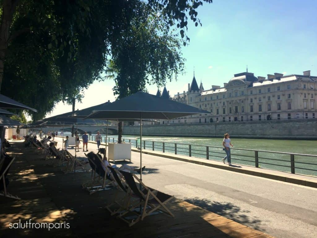 Paris Plage - a good activity when visiting Paris in Summer - Paris in July, Paris in August