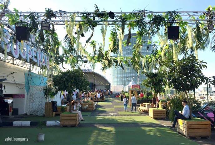 Le Jardin Suspendu – Paris greenest roof top bar!