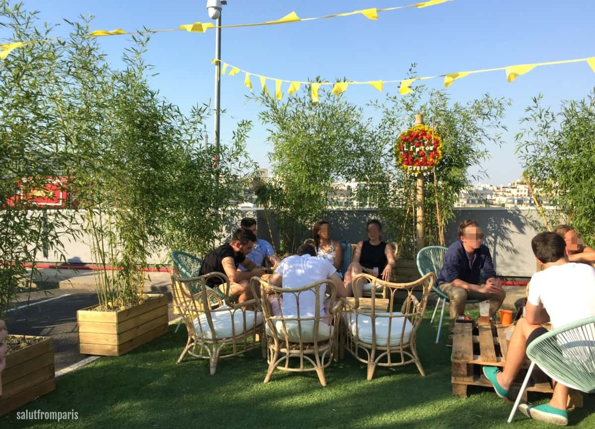 Le Jardin Suspendu The Summer Roof Top Event In Paris