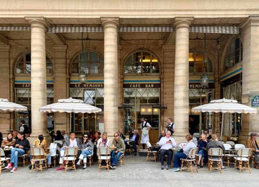 Le Nemours - lunch and coffee spot just next to the Louvre
