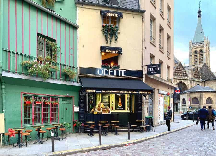 Odette - one of the most know bakeries in the Quartier Latin