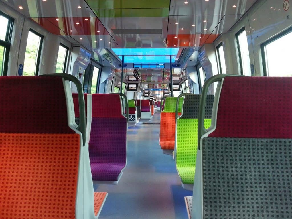 Take a train from Paris airport to city - the quickest way is taking a train from the airport to paris