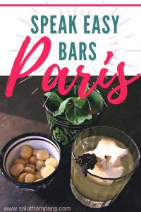 Speak easy Paris, hidden bars paris