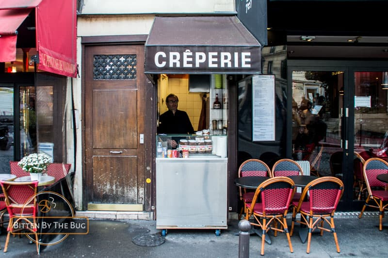 some of the best food in Paris: Galette and Crepes