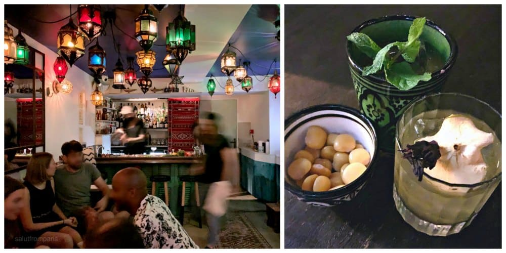 speakeasy bars are one of the many secrets in Paris - secret places Paris if you are looking for drinks in a cool setting