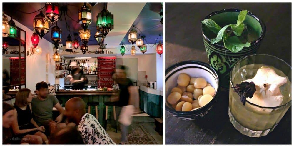 L'Épicier is a secret bar in Paris - oriental bar, great cocktail bar in Paris