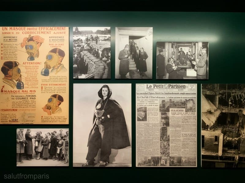 climb down the past (literally) – The Museum of the Liberation of Paris