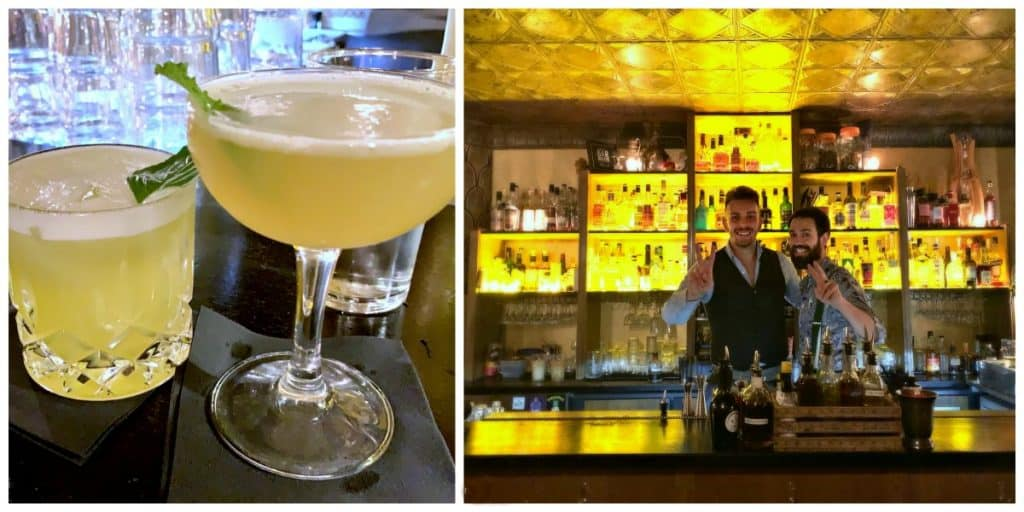 it's a good cocktail bar in Paris - the moonshiner is one of the best Paris speakeasy