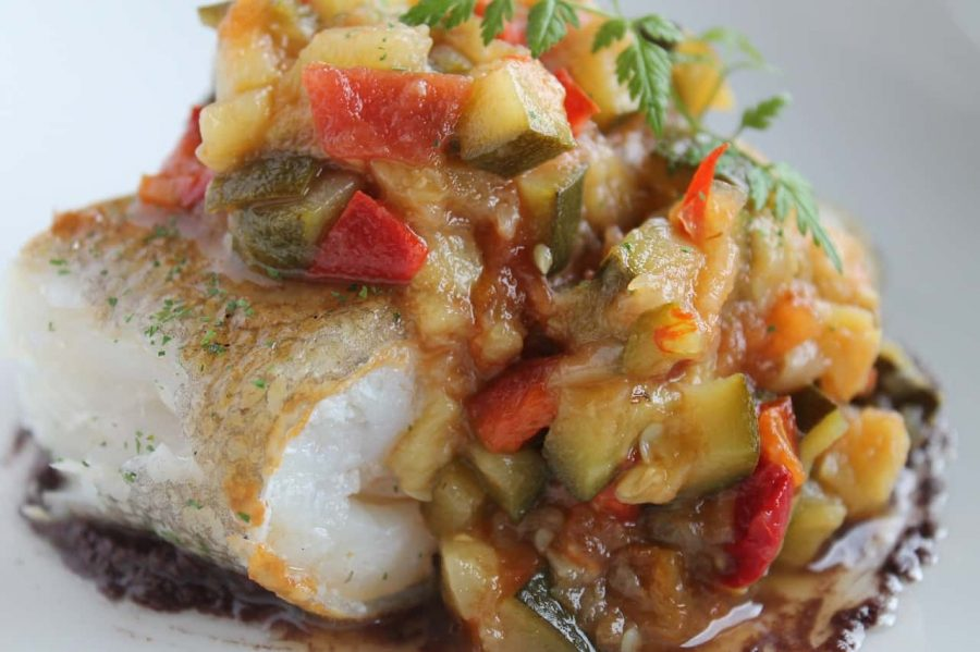 traditional french food in Paris - put a classic Ratatouille on your list!