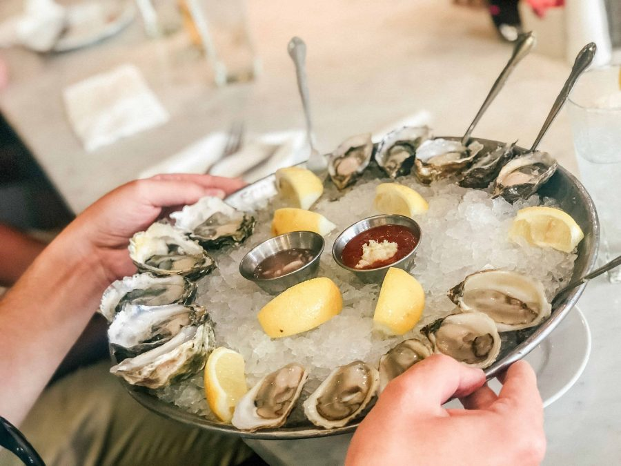 Seafood is a classic in Paris and a food to try in Paris- Order a Plateau Royal and get the best of french cuising and a must eat Paris
