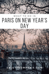 Paris on New Year's Day