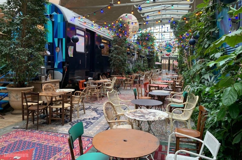 fun restaurants paris: The decoration at La Felicità is one of a kind - a quirky and fun restaurant in Paris