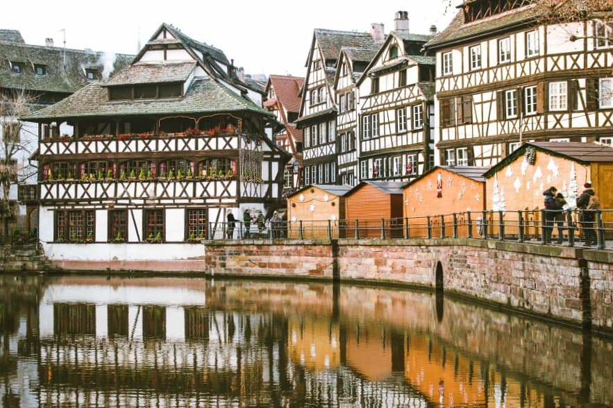 visit Europe's oldest Christmas Market in Strasbourg as a day trip from Paris!