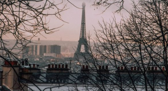 Paris on New Years Day