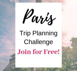 Paris trip planning course - Paris trip planning step by step