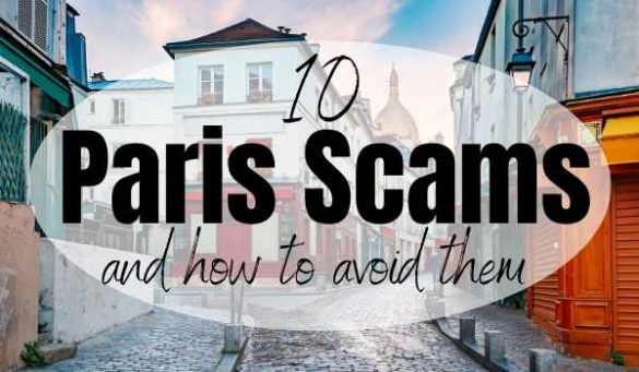Paris scams to avoid -travel safety