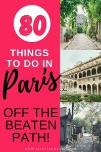 hidden gems in Paris - Paris secrets