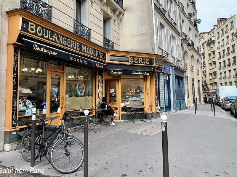 Filming Locations Emily in Paris - boulangerie moderne emily in paris - the Emily in Paris Boulangerie