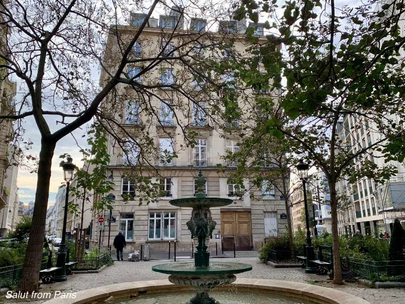 Emily in Paris - Filming location of her appartment and a must if you are looking for emily in paris places to visit. it is just across the street from the restaurant emily in paris meets Gabriel