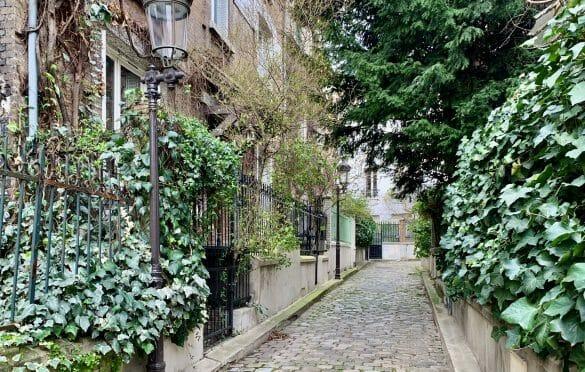 Square de Peupliers - beautiful streets in Paris